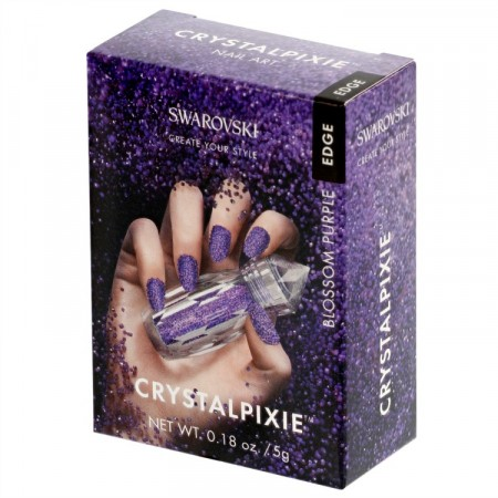 Swarovski Crystalpixie EDGE Blossom Purple