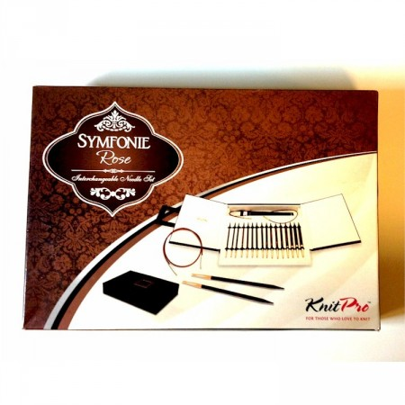 KnitPro Symfonie Rose Interchangeable strikkepinnesett Deluxe