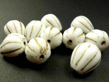 Perler Hvite og blanke A