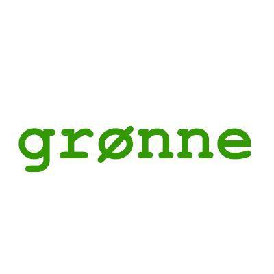 Grønne plastknapper